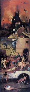Jheronimus Bosch, de Hooiwagen, rechterluik, Prado, Madrid